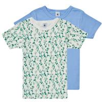 Oblečenie Chlapci Tričká s krátkym rukávom Petit Bateau LOLITA Viacfarebná