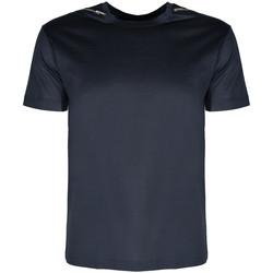 Oblečenie Muži Tričká s krátkym rukávom Les Hommes  Modrá