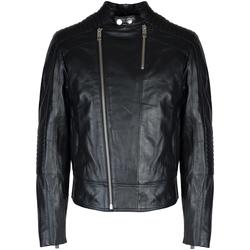 Oblečenie Muži Kožené bundy a syntetické bundy Les Hommes  Čierna