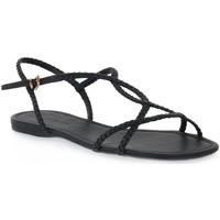 Topánky Ženy Sandále Miss Unique UNIQUE   PRETO CALF Nero