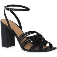 Topánky Ženy Sandále Miss Unique UNIQUE   PRETO SMOOTHIE Nero