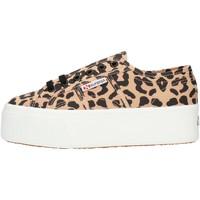 Topánky Ženy Členkové tenisky Superga S11317W Leopard