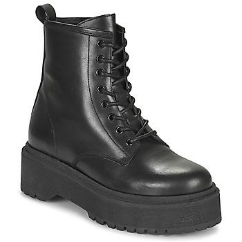 Topánky Ženy Polokozačky Betty London PICARLA Čierna