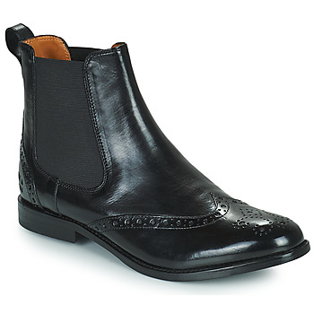 Topánky Ženy Polokozačky Melvin & Hamilton AMELIE 5 Čierna