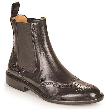 Topánky Ženy Polokozačky Melvin & Hamilton SALLY 112 Čierna