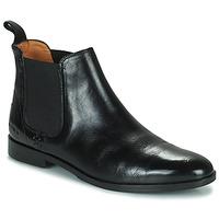 Topánky Ženy Polokozačky Melvin & Hamilton SUSAN 10 Čierna