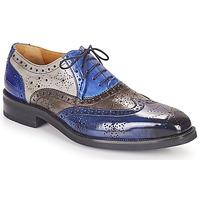 Topánky Muži Derbie Melvin & Hamilton JEFF 28 Modrá