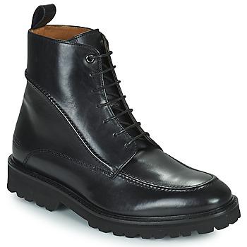 Topánky Muži Polokozačky Melvin & Hamilton MATTHEW 37 Čierna
