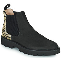 Topánky Ženy Polokozačky Melvin & Hamilton SELINA 37 Čierna