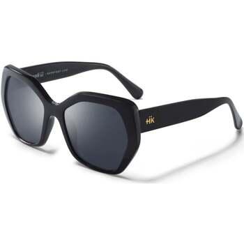 Hodinky & Bižutéria Slnečné okuliare Hanukeii SoMa Čierna