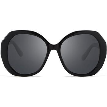 Hodinky & Bižutéria Slnečné okuliare Hanukeii Lombard Čierna
