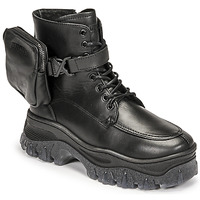 Topánky Ženy Polokozačky Bronx JAXSTAR MID Čierna