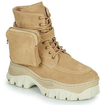 Topánky Ženy Polokozačky Bronx JAXSTAR MID Béžová