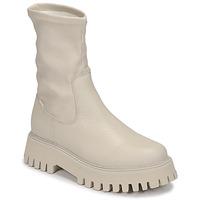 Topánky Ženy Polokozačky Bronx GROOV Y Biela