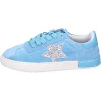 Topánky Dievčatá Nízke tenisky Holalà BH09 Modrá