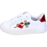 Topánky Dievčatá Nízke tenisky Holalà BH12 Biela