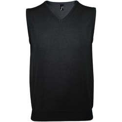 Oblečenie Muži Spoločenské vesty k oblekom Sols GENTLEMEN Negro Negro