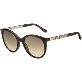 Hodinky & Bižutéria Ženy Slnečné okuliare Jimmy Choo  Hnedá