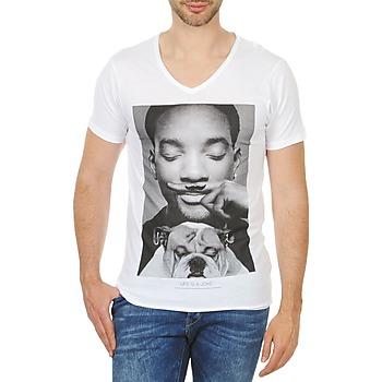 Oblečenie Muži Tričká s krátkym rukávom Eleven Paris WOLY M Biela