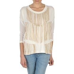 Oblečenie Ženy Tričká s dlhým rukávom Eleven Paris ANGIE Biela
