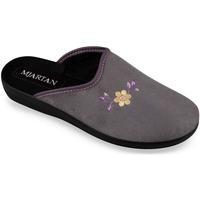 Topánky Ženy Papuče Mjartan Dámske sivé papuče  IVANA tmavosivá