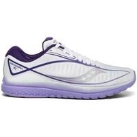 Topánky Ženy Bežecká a trailová obuv Saucony Kinvara 10 Biela