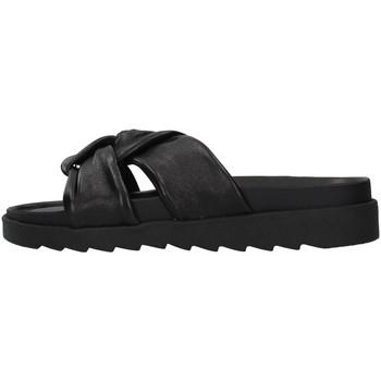 Topánky Ženy Šľapky Apepazza S1SOFTWLK01/LEA BLACK