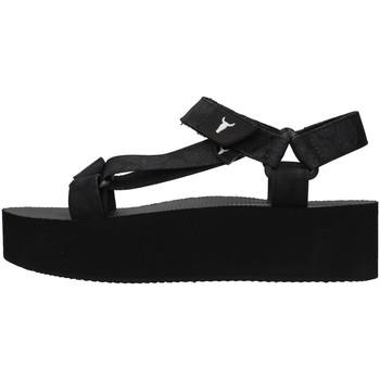 Topánky Ženy Sandále Windsor Smith PEEPED BLACK
