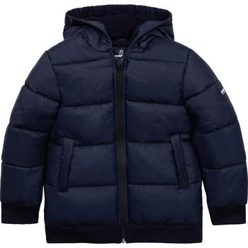 Oblečenie Chlapci Vyteplené bundy Aigle SARAH Námornícka modrá