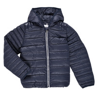 Oblečenie Deti Vyteplené bundy Aigle ANITA Námornícka modrá