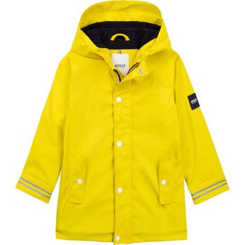 Oblečenie Deti Vetrovky a bundy Windstopper Aigle PAULA Žltá