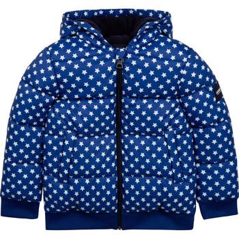 Oblečenie Deti Vyteplené bundy Aigle SOLILA Modrá