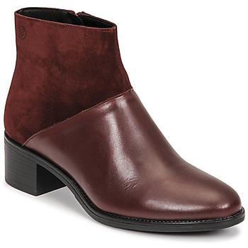 Topánky Ženy Čižmičky Betty London PANDINA Bordová