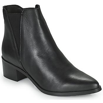 Topánky Ženy Čižmičky Betty London PERDRIX Čierna