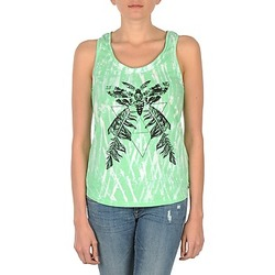 Oblečenie Ženy Tielka a tričká bez rukávov Eleven Paris PAPILLON DEB W Zelená / Biela