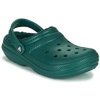 Topánky Nazuvky Crocs CLASSIC LINED CLOG Zelená