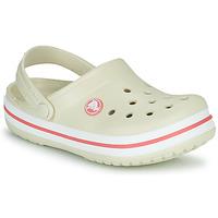 Topánky Deti Nazuvky Crocs CROCBAND CLOG K Béžová / Oranžová