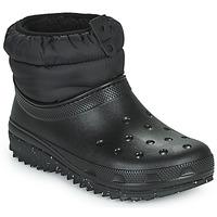 Topánky Ženy Snehule  Crocs CLASSIC NEO PUFF SHORTY BOOT W Čierna
