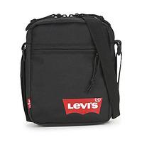 Tašky Muži Vrecúška a malé kabelky Levi's MINI CROSSBODY SOLID (RED BATWING) Čierna