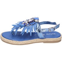 Topánky Dievčatá Sandále Holalà BH18 Modrá