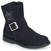 Topánky Dievčatá Polokozačky Citrouille et Compagnie POUDRE Námornícka modrá