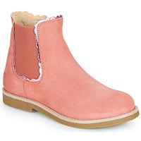 Topánky Dievčatá Polokozačky Citrouille et Compagnie PRAIRIE Ružová