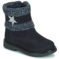 Topánky Dievčatá Polokozačky Citrouille et Compagnie PASTEK Námornícka modrá