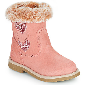 Topánky Dievčatá Čižmy do mesta Citrouille et Compagnie PARAVA Ružová