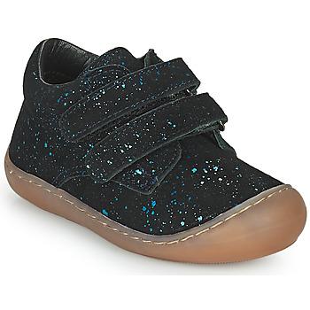 Topánky Dievčatá Členkové tenisky Citrouille et Compagnie PIOTE Modrá