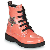 Topánky Dievčatá Polokozačky Citrouille et Compagnie PICOTI Ružová