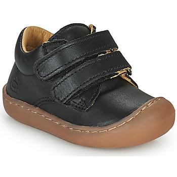 Topánky Deti Členkové tenisky Citrouille et Compagnie PIOTE Čierna