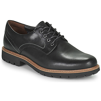 Topánky Muži Derbie Clarks Batcombe Hall Čierna