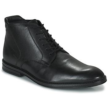 Topánky Muži Polokozačky Clarks CITISTRIDERISE Čierna