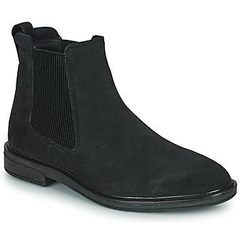 Topánky Muži Polokozačky Clarks CLARKDALE HALL Čierna